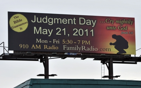 judgment day billboard. Judgment Day May 21,
